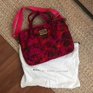 Marc by Marc Jacobs pink laptop bag